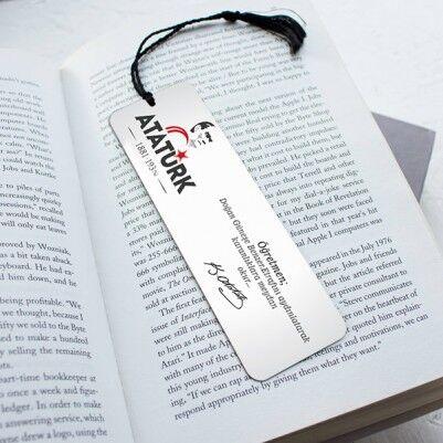 - Atatürk Temalı Kitap Okuma Ayracı