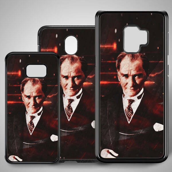 Atatürk Temalı Samsung Telefon Kapağı
