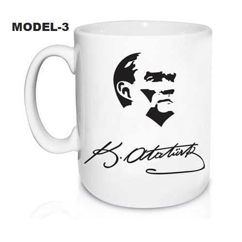 Atatürk Resimli Kupa Bardak Modelleri