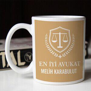 - Avukat Temalı Hediyelik Kupa Bardak