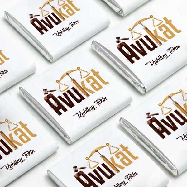 Avukat Temalı Mesleki Çikolatalar