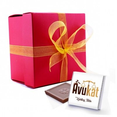 Avukat Temalı Mesleki Çikolatalar - Thumbnail