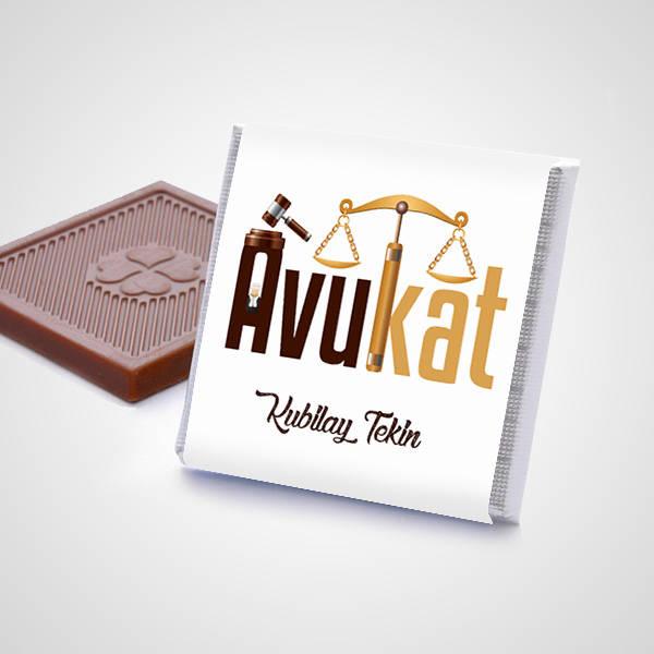 Avukata Hediye Çikolata Kutusu