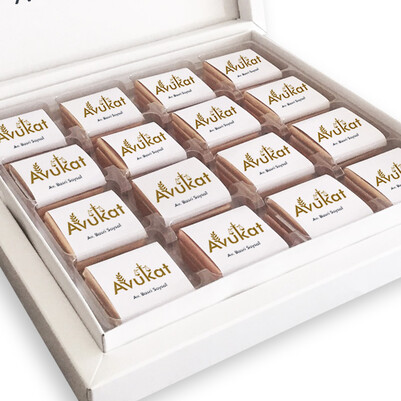 Avukata Hediye Çikolata Kutusu - Thumbnail