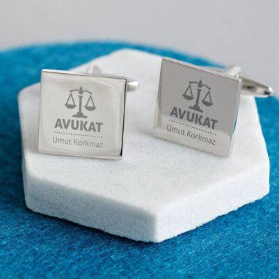 - Avukata Hediye Gömlek Kol Düğmesi