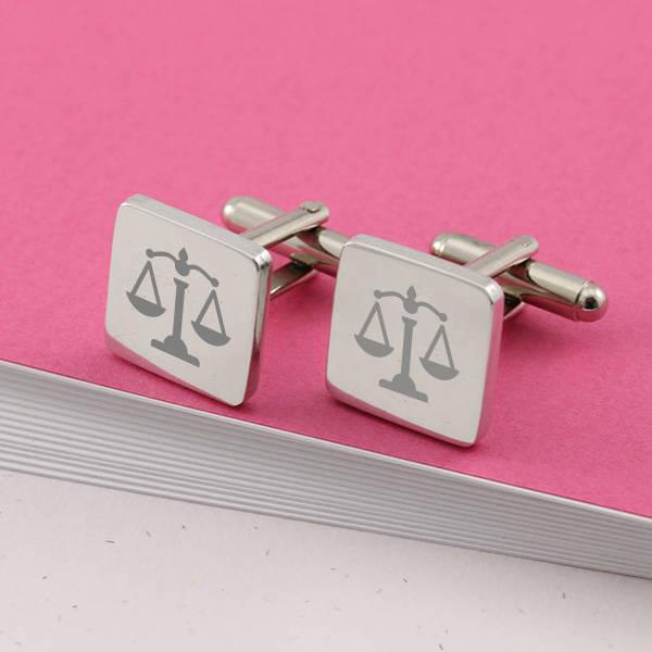 Avukata Hediye Mesleki Kol Düğmesi