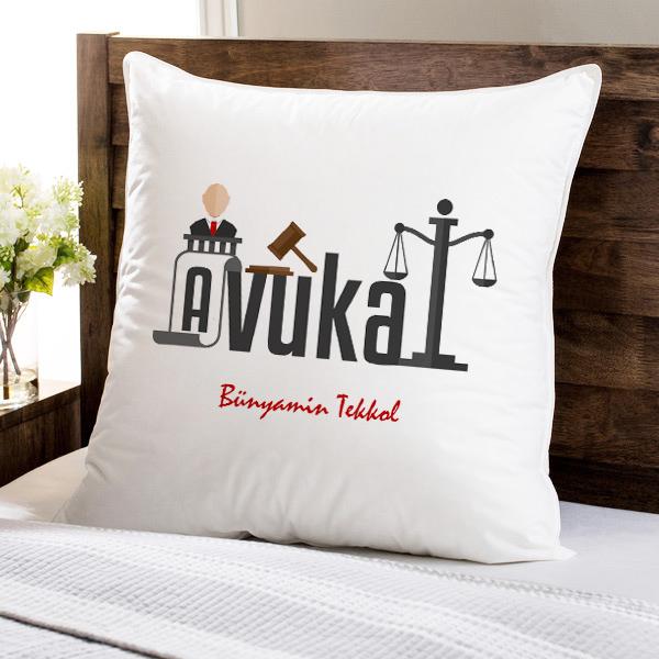 Avukatınız İçin Hediyelik Yastık