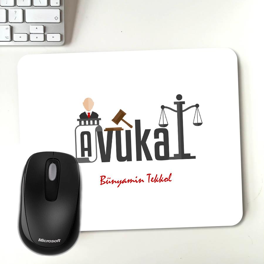 Avukatınıza Özel Hediyelik Mousepad