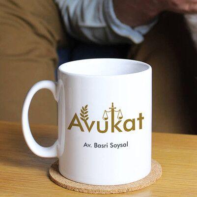 - Avukatlara Özel Kahve Kupası