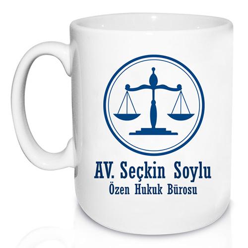 Avukatlara Özel Kupa Bardak