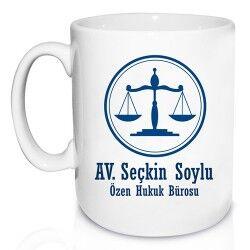 Avukatlara Özel Kupa Bardak - Thumbnail
