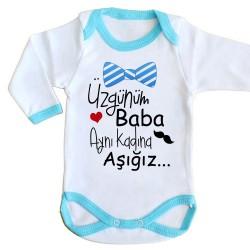 - Aynı Kadına Aşığız Baba Bebek Zıbını