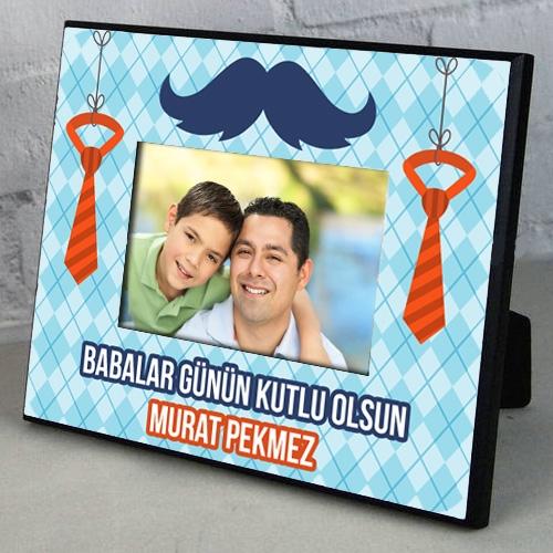 Babalar Günü HDF Fotoğraf Çerçevesi