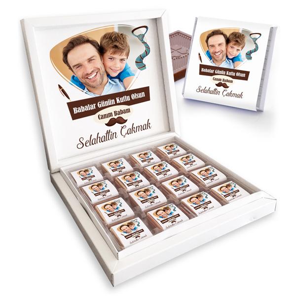 Babalar Günün Kutlu Olsun Çikolatası