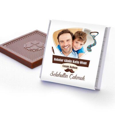 Babalar Günün Kutlu Olsun Çikolatası - Thumbnail