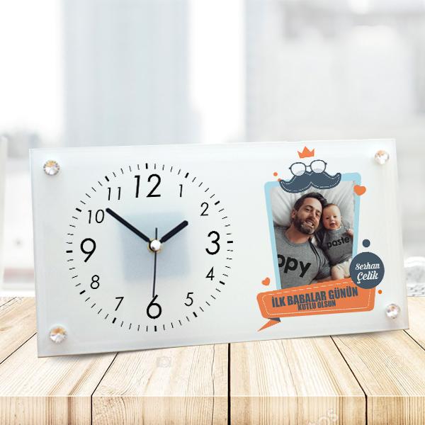 Babalar Günün Kutlu Olsun Masa Saati