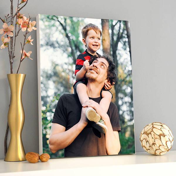 Babalara Hediye Fotoğraflı Kanvas Tablo