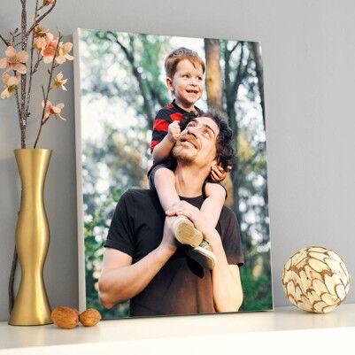 - Babalara Hediye Fotoğraflı Kanvas Tablo