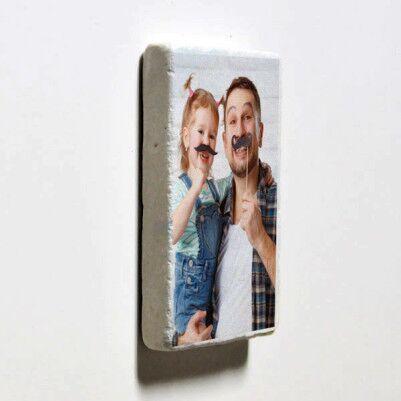 Babalara Özel Buzdolabı Magneti - Thumbnail