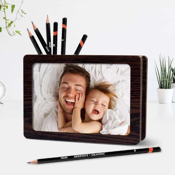 Babalara Özel Fotoğraflı Kalemlik