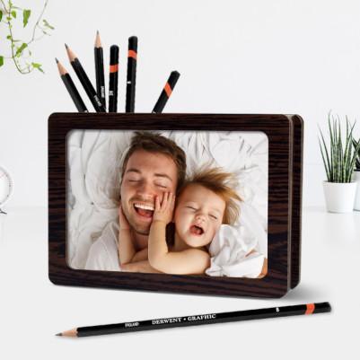 - Babalara Özel Fotoğraflı Kalemlik