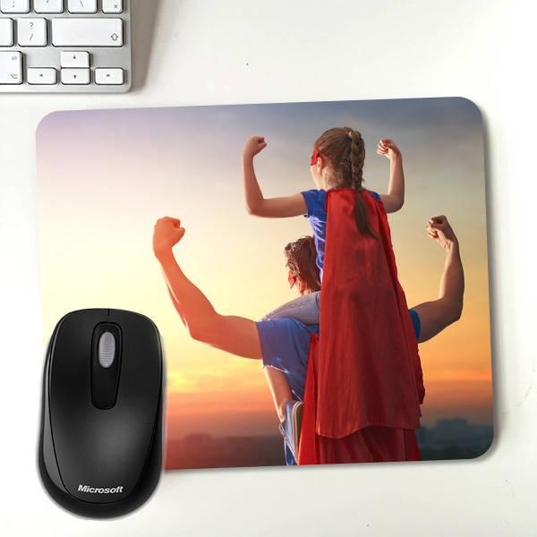 Babalara Özel Fotoğraflı Mouse Pad