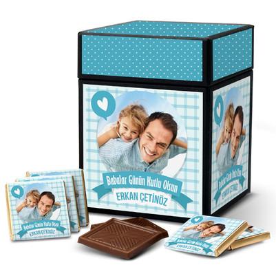 - Babama Çikolata Dolu Sevgi Kutusu