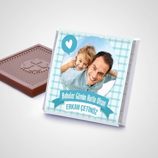 Babama Çikolata Dolu Sevgi Kutusu