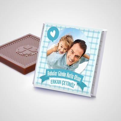 Babama Çikolata Dolu Sevgi Kutusu - Thumbnail