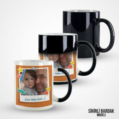 Babamı Çok Seviyorum Kupa Bardak - Thumbnail