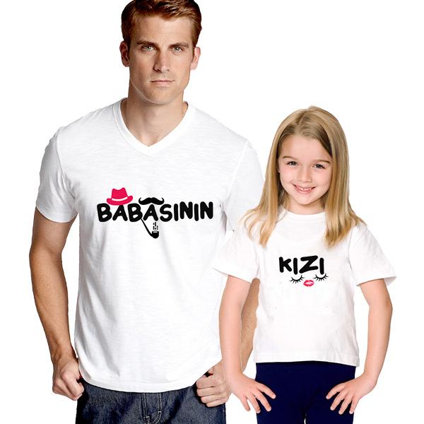 Babasının Kızı 2'li Tişört
