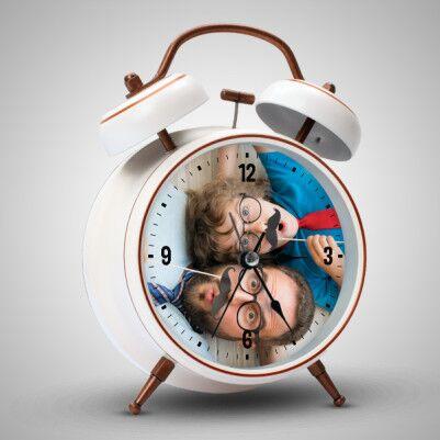 - Babaya Hediye Fotoğraflı Alarm Saat