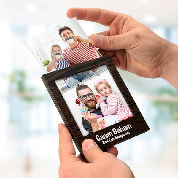 Babaya Hediye Polaroid Fotoğraf Albümü