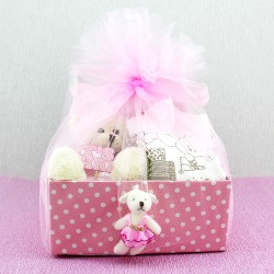 Baby Girl Kız Bebek Hediye Sepeti - Thumbnail