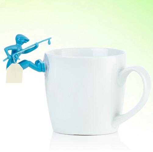Balıkçı Poşet Çay Tutucu