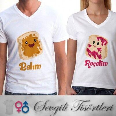 - Balım Reçelim Çift Tişörtleri
