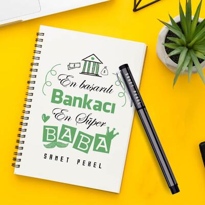 - Bankacı Babalara Özel Defter ve Kalem