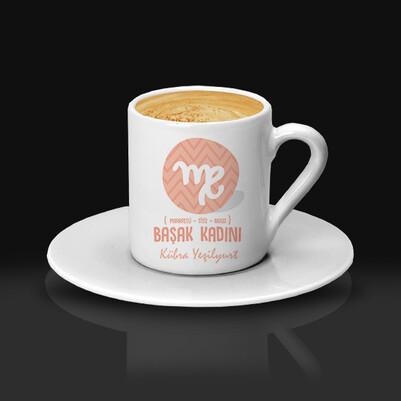Başak Burcu Kadınına Hediye Kahve Fincanı - Thumbnail