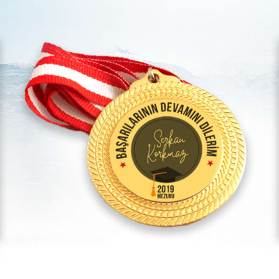 - Başarılarının Devamını Dilerim Madalyon