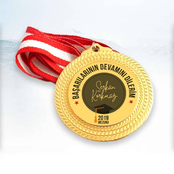 Başarılarının Devamını Dilerim Madalyon