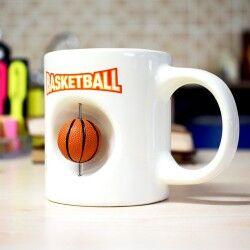 Basketbol Topu Kupa Bardak - Thumbnail