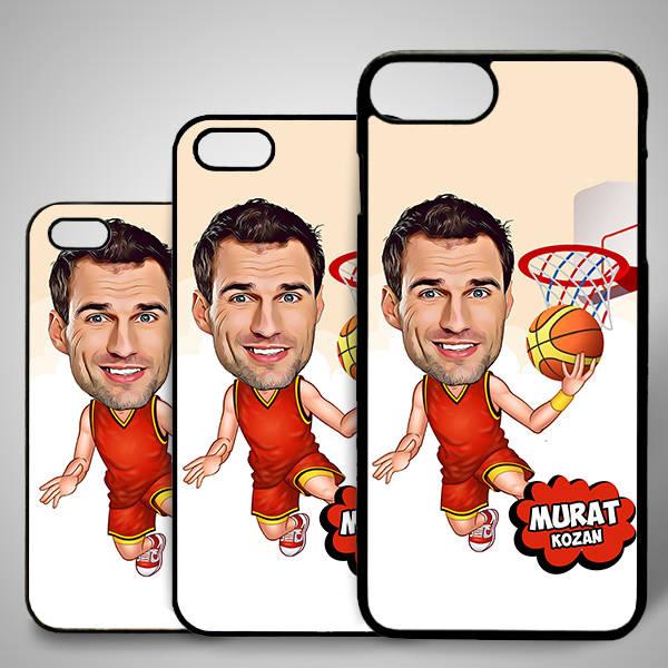Basketbolcu Karikatürlü Iphone Kapak