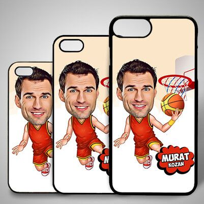 - Basketbolcu Karikatürlü Iphone Kapak