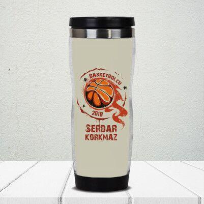 - Basketbolculara Özel Kişiye Özel Termos