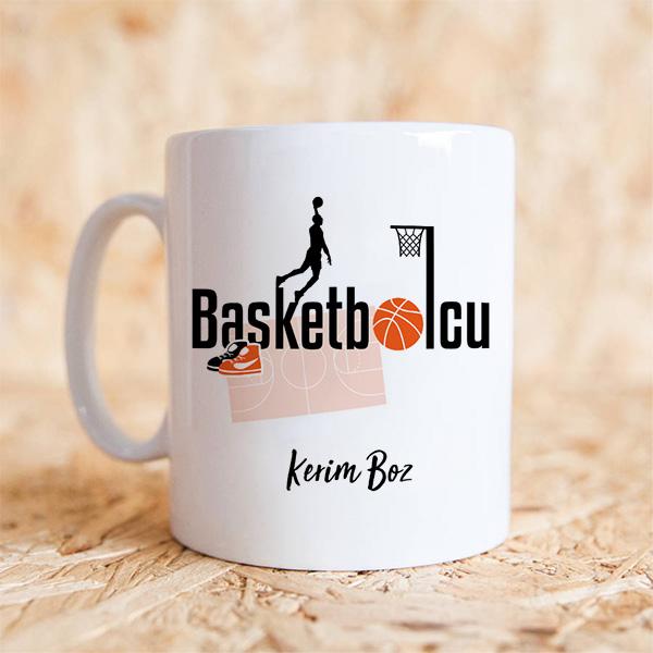 Basketbolculara Özel Kupa Bardak
