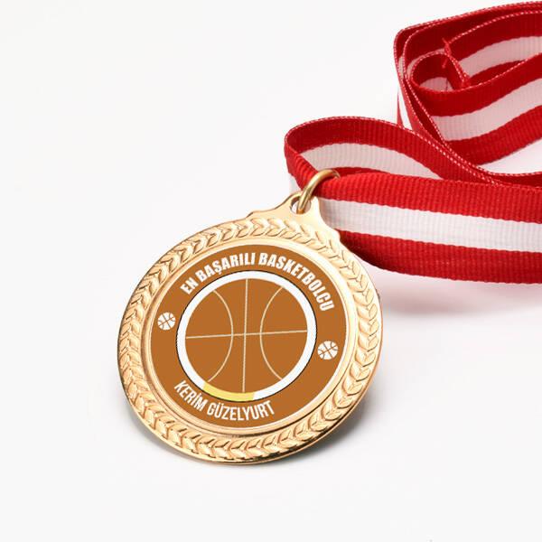 Basketbolculara Özel Madalyon