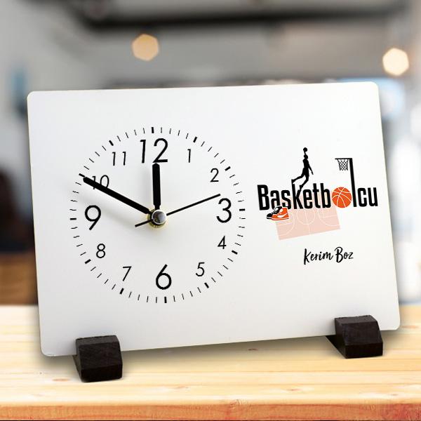 Basketbolculara Özel Masa Saati