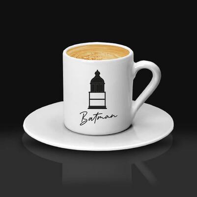 - Batman Tasarımlı Kahve Fincanı