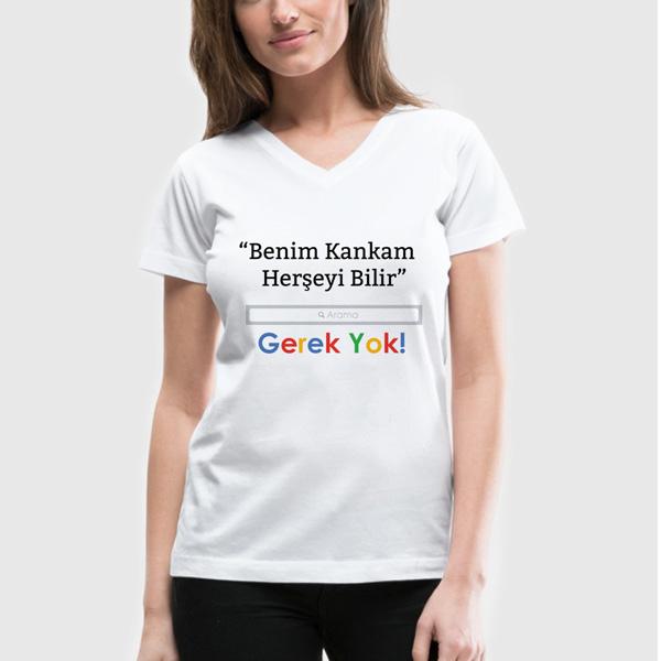 Bayan Arkadaş Arama Motoru Tişört