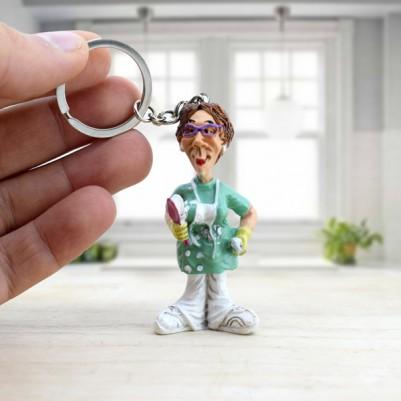 - Bayan Dişçilere Özel Anahtarlık